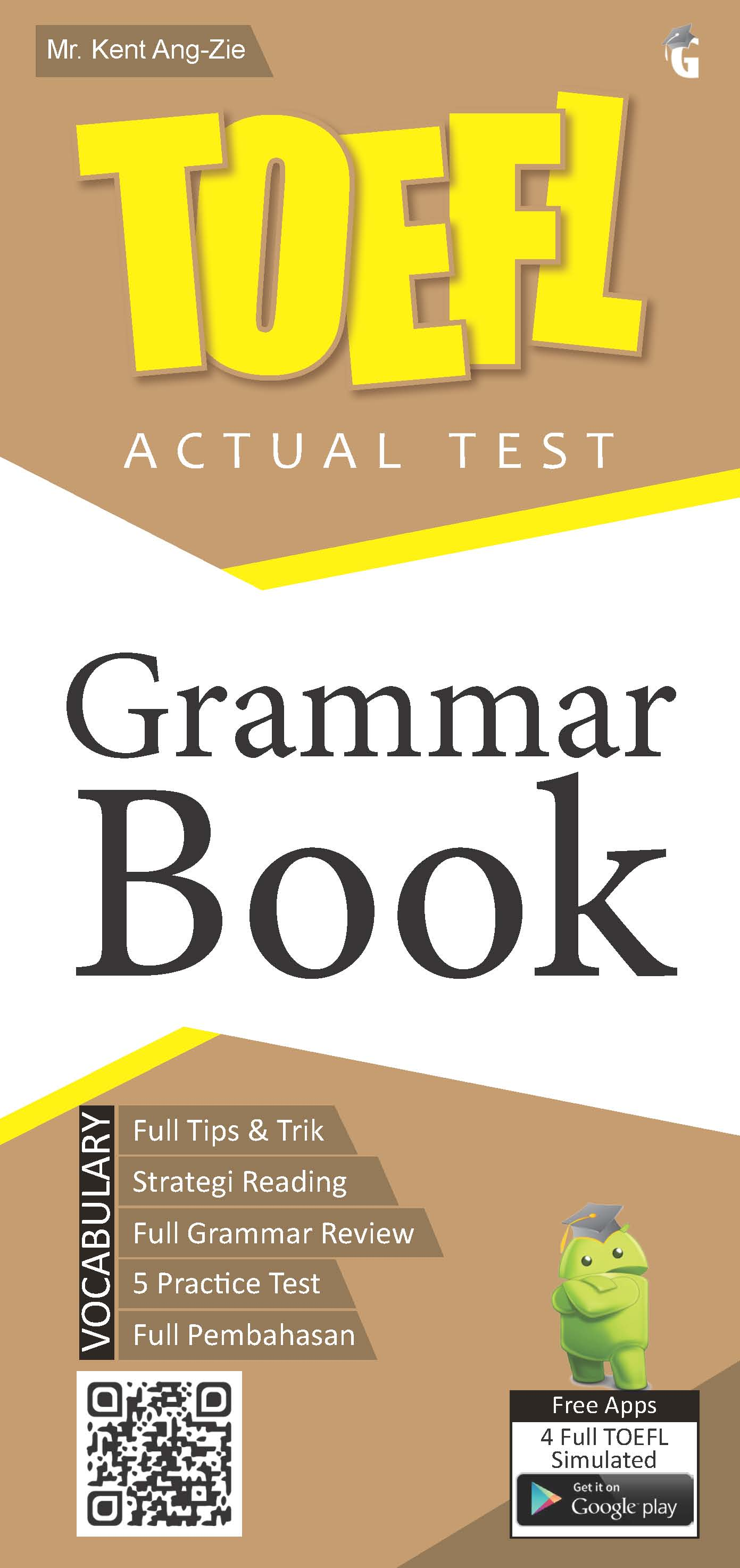 Grammar book [sumber elektronis] : toefl actual test