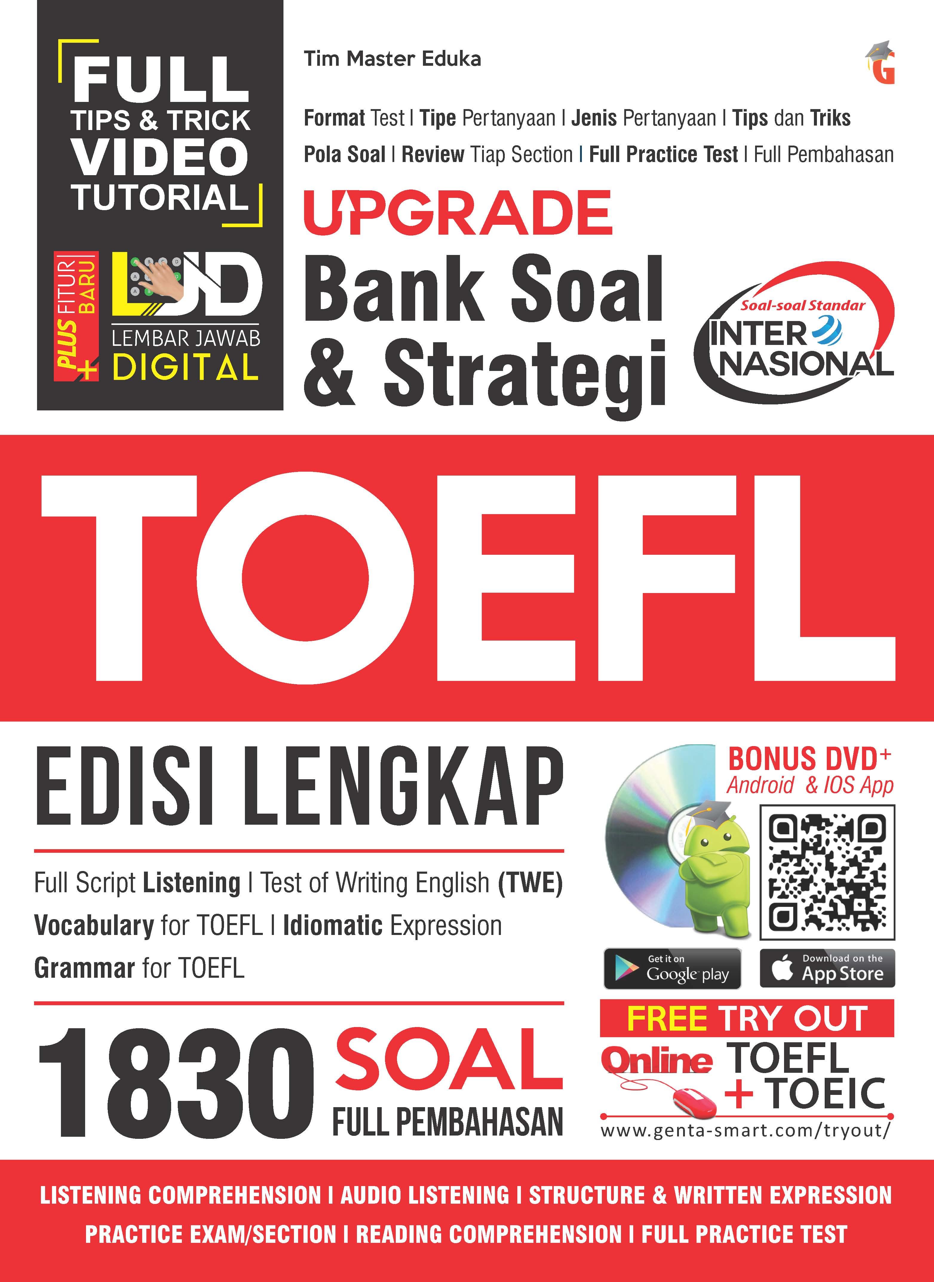 Upgrade bank soal & strategi TOEFL [sumber elektronis]