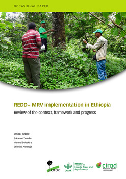 REDD+ MRV implementation in Ethiopia [sumber elektronis] : review of the context, framework and progress
