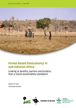 Forest-based bioeconomy in sub-saharan Africa [sumber elektronis]