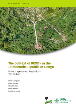 The context of REDD+ in the democratic republic of Congo [sumber elektronis] : drivers, agents and institutions