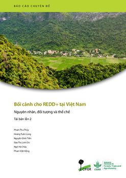Boi canh cho redd+ tai Viet nam [sumber elektronis] : nguyen nhan, doi tu?ng va the che