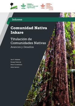 Comunidad nativa Inkare [sumber elektronis] : titulacion de comunidades nativas avances y desafios