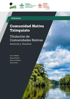 Comunidad nativa Tzinquiato [sumber elektronis] : titulacion de comunidades nativas avances y desafios