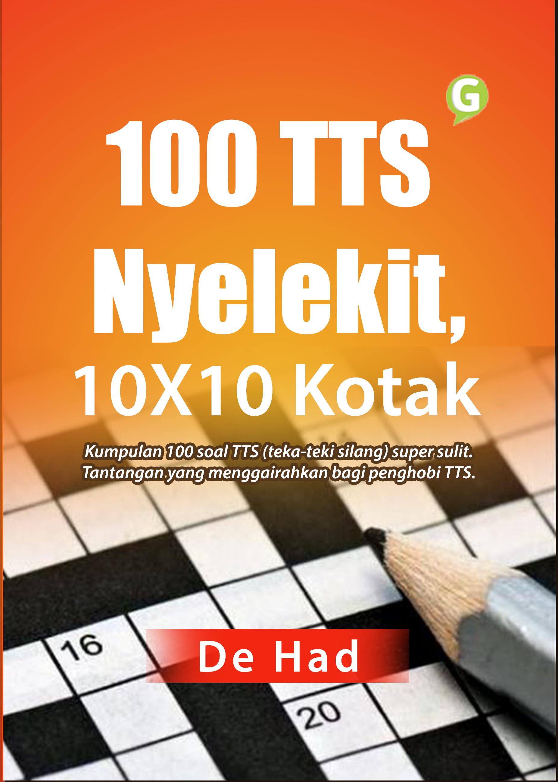 100 TTS nyelekit, 10X10 kotak [sumber elektronis]
