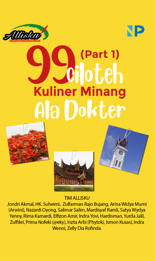 99 ciloteh kuliner Minang ala dokter [sumber elektronis]