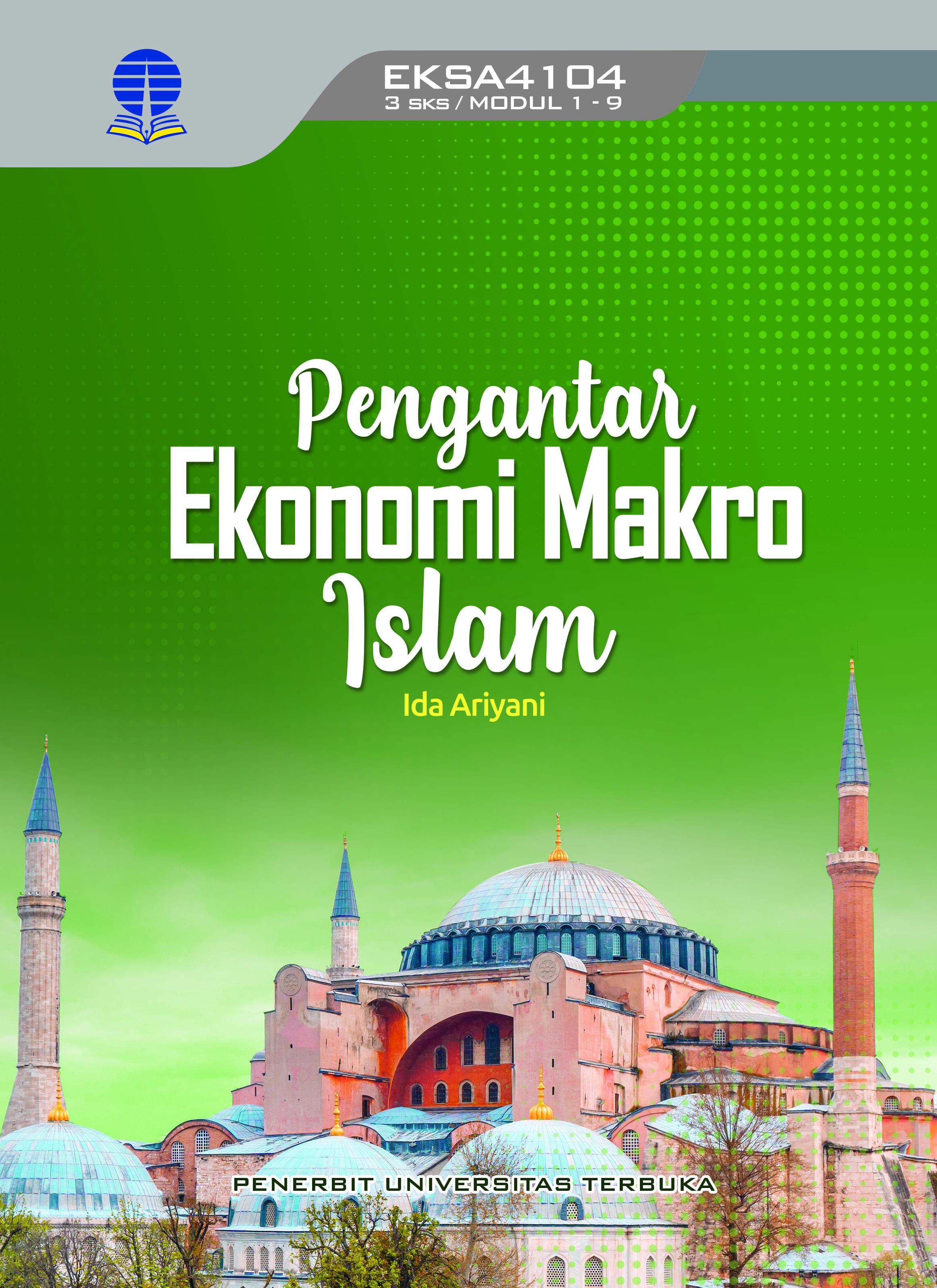 Pengantar ekonomi makro Islam [sumber elektronis]