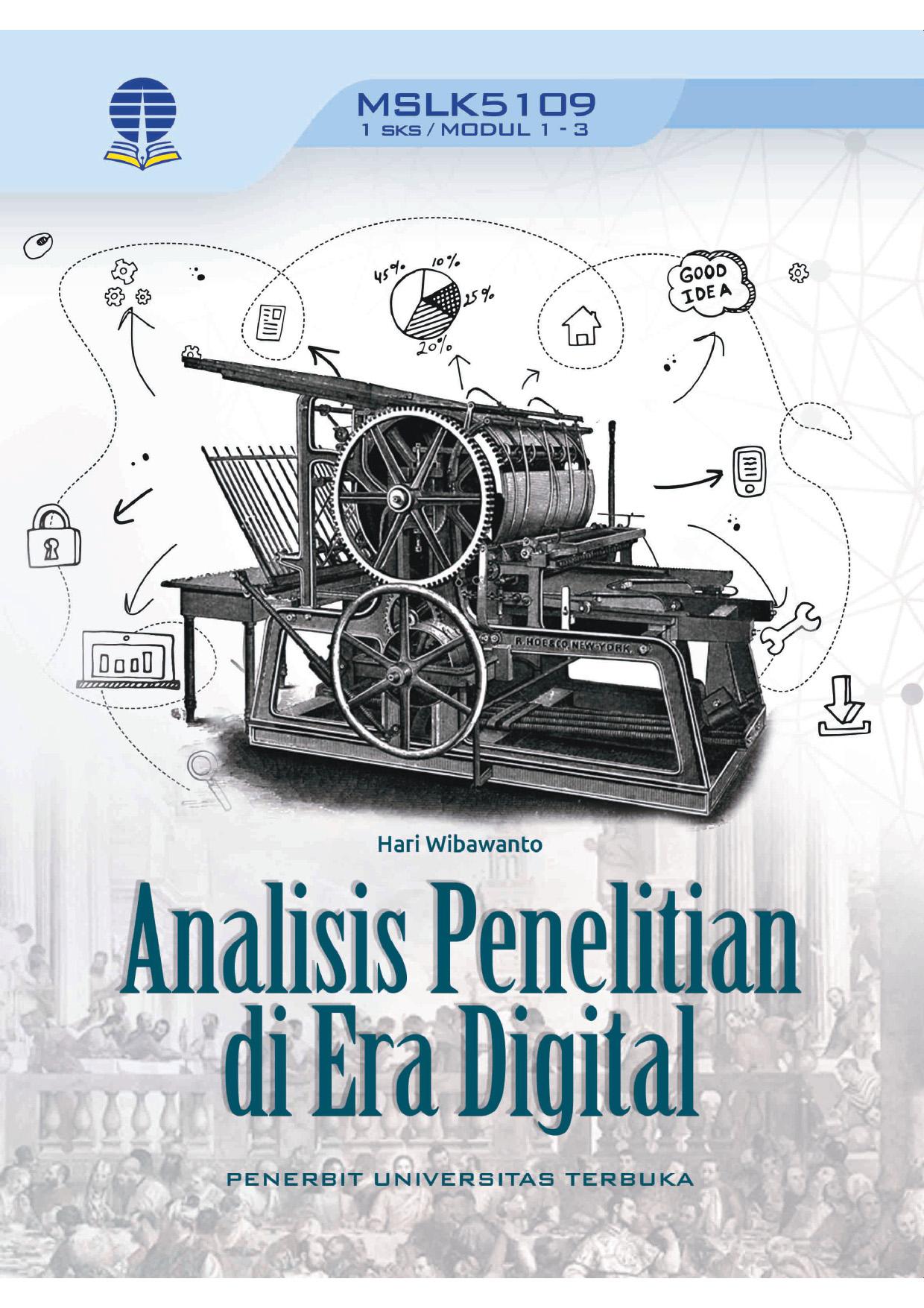 Analisis penelitian di era digital [sumber elektronis]