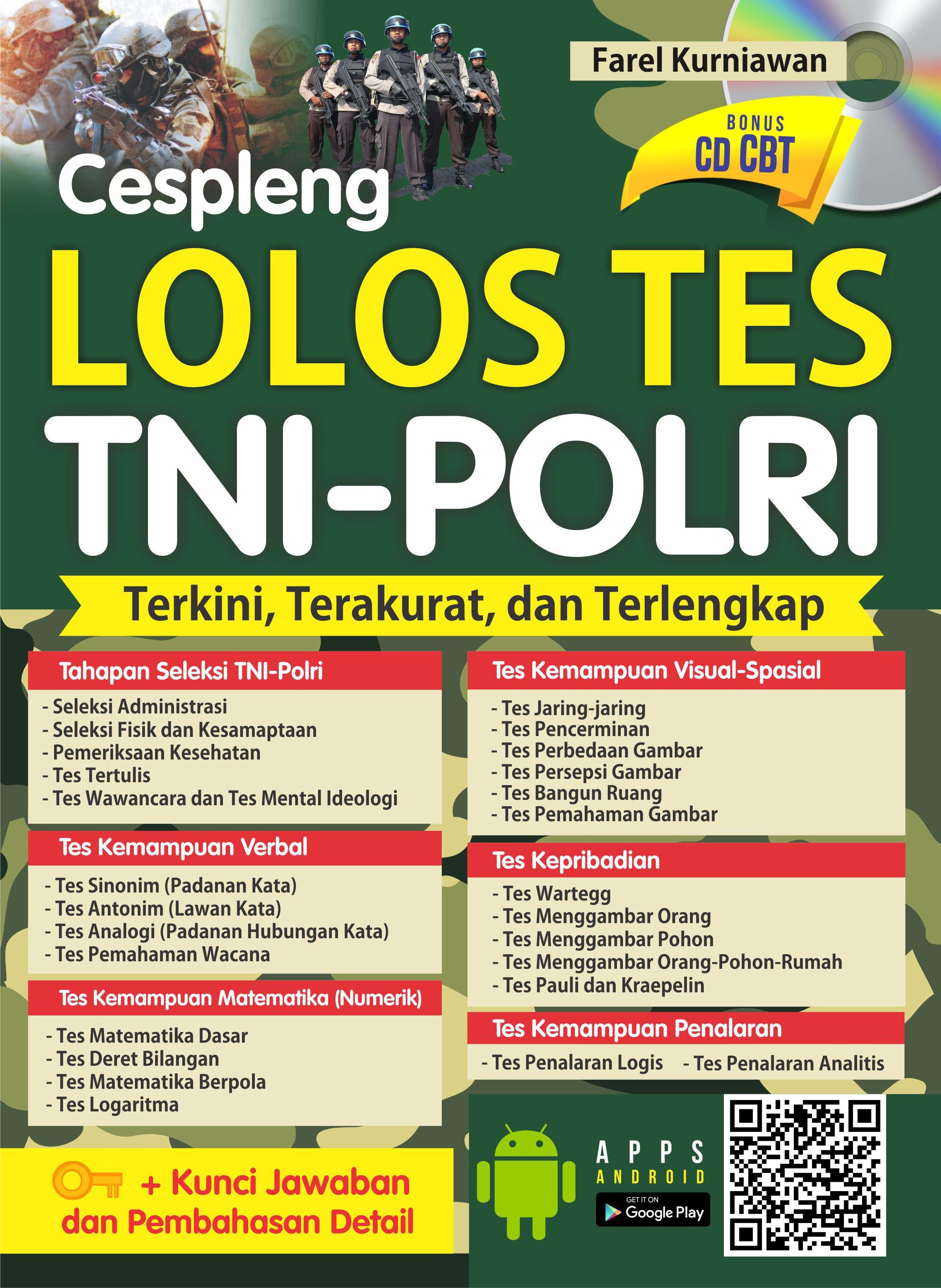 Cespleng lolos tes TNI-POLRI [sumber elektronis]