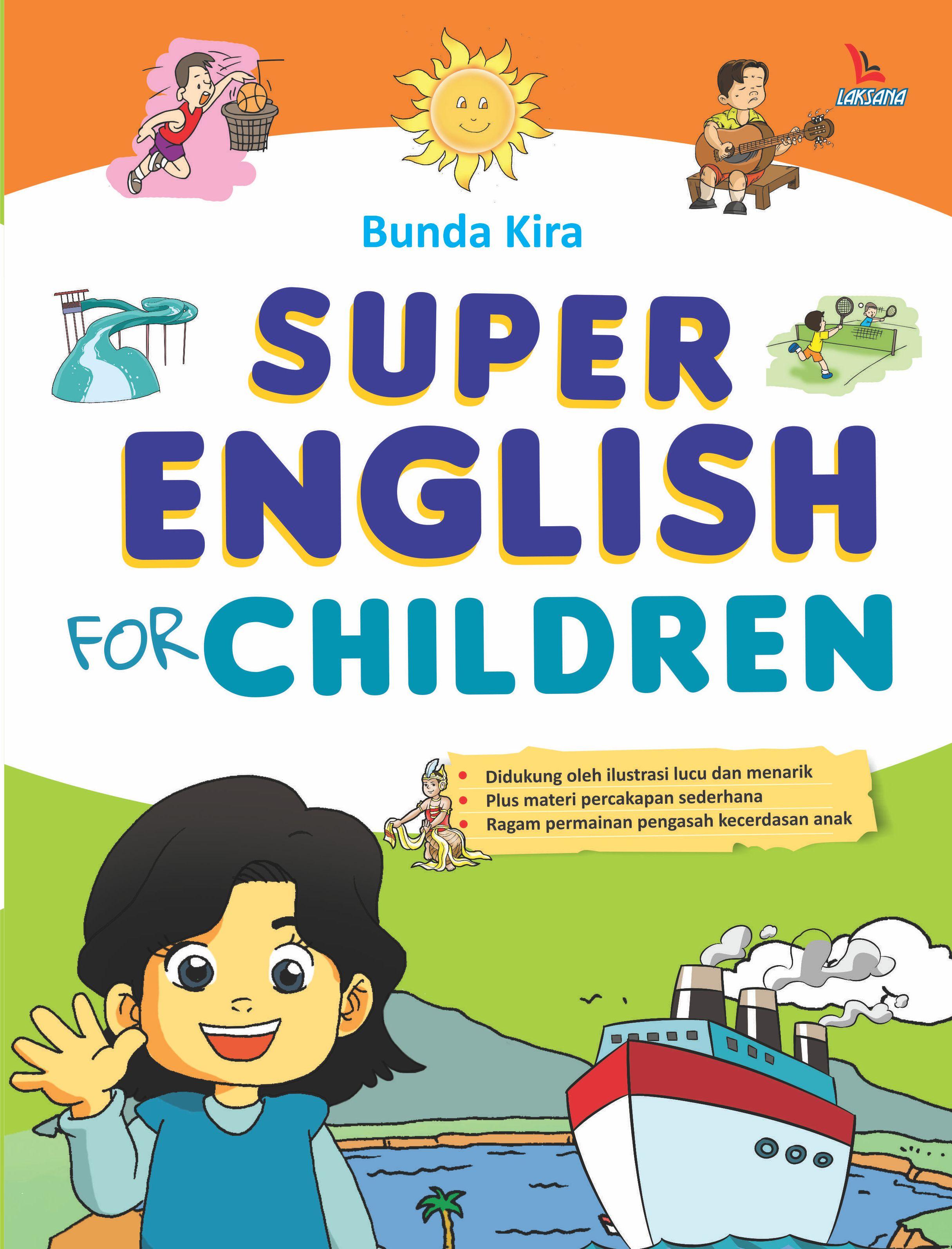 Super english for children [sumber elektronis]