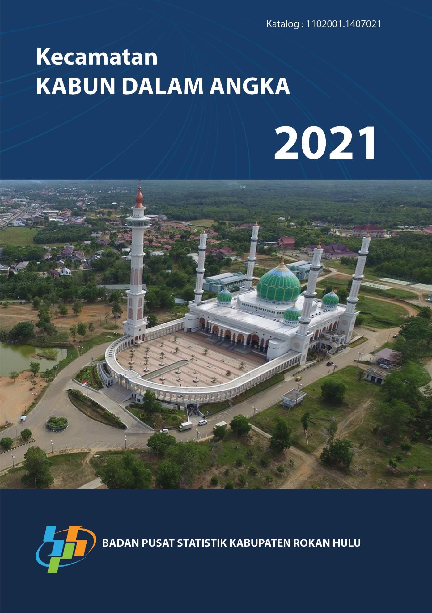 Kecamatan Kabun dalam angka 2021 [sumber elektronis]