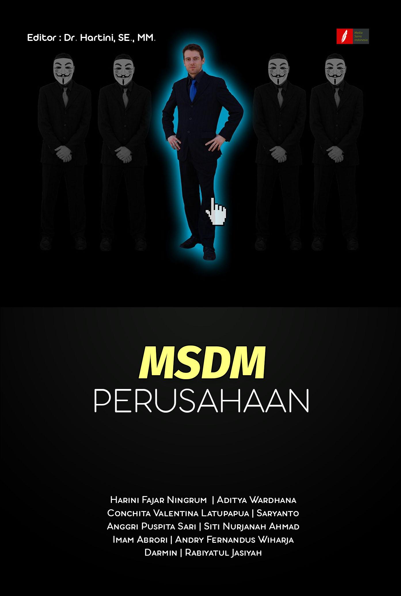 MSDM perusahaan [sumber elektronis]