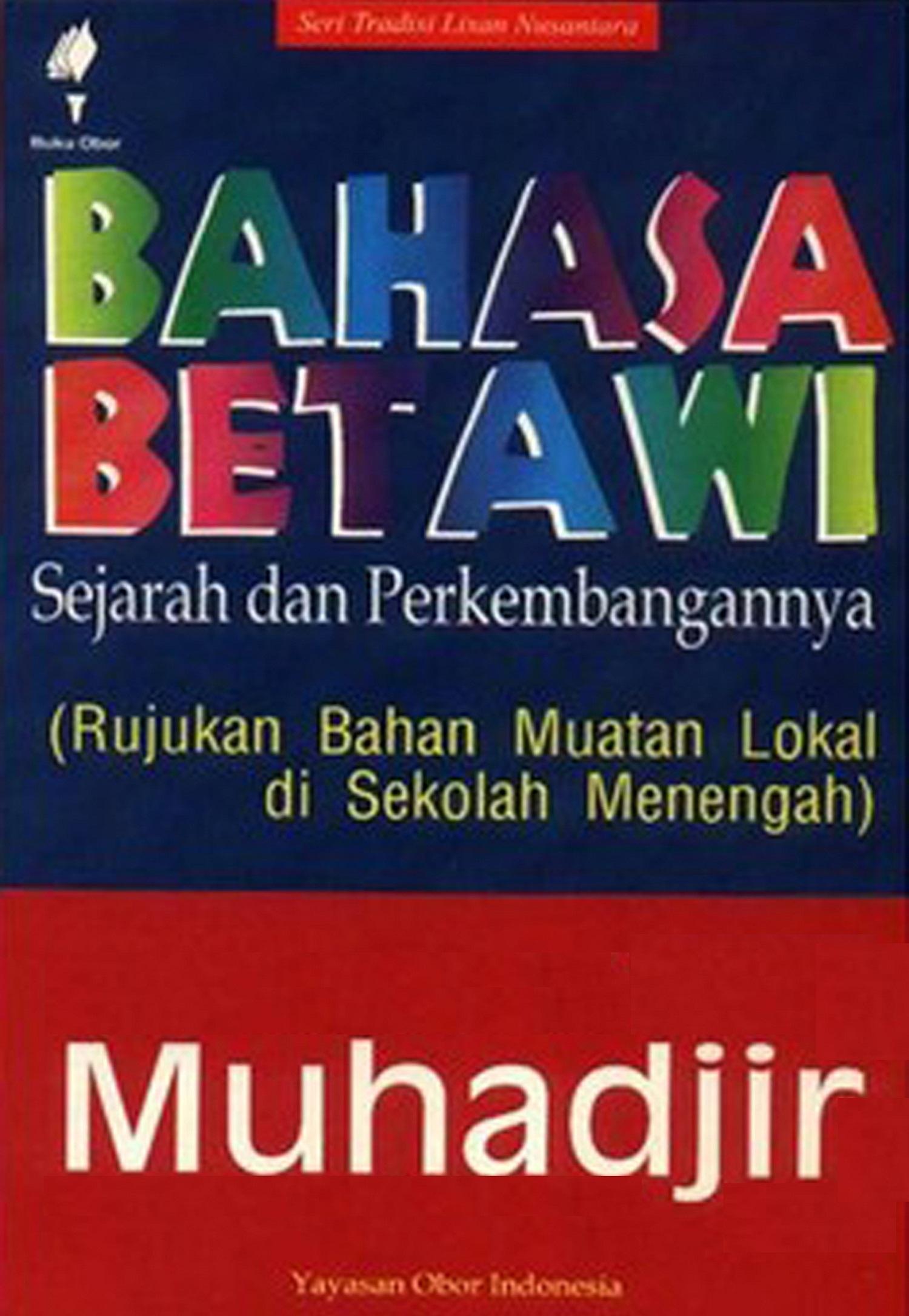 Bahasa Betawi [sumber elektronis] :