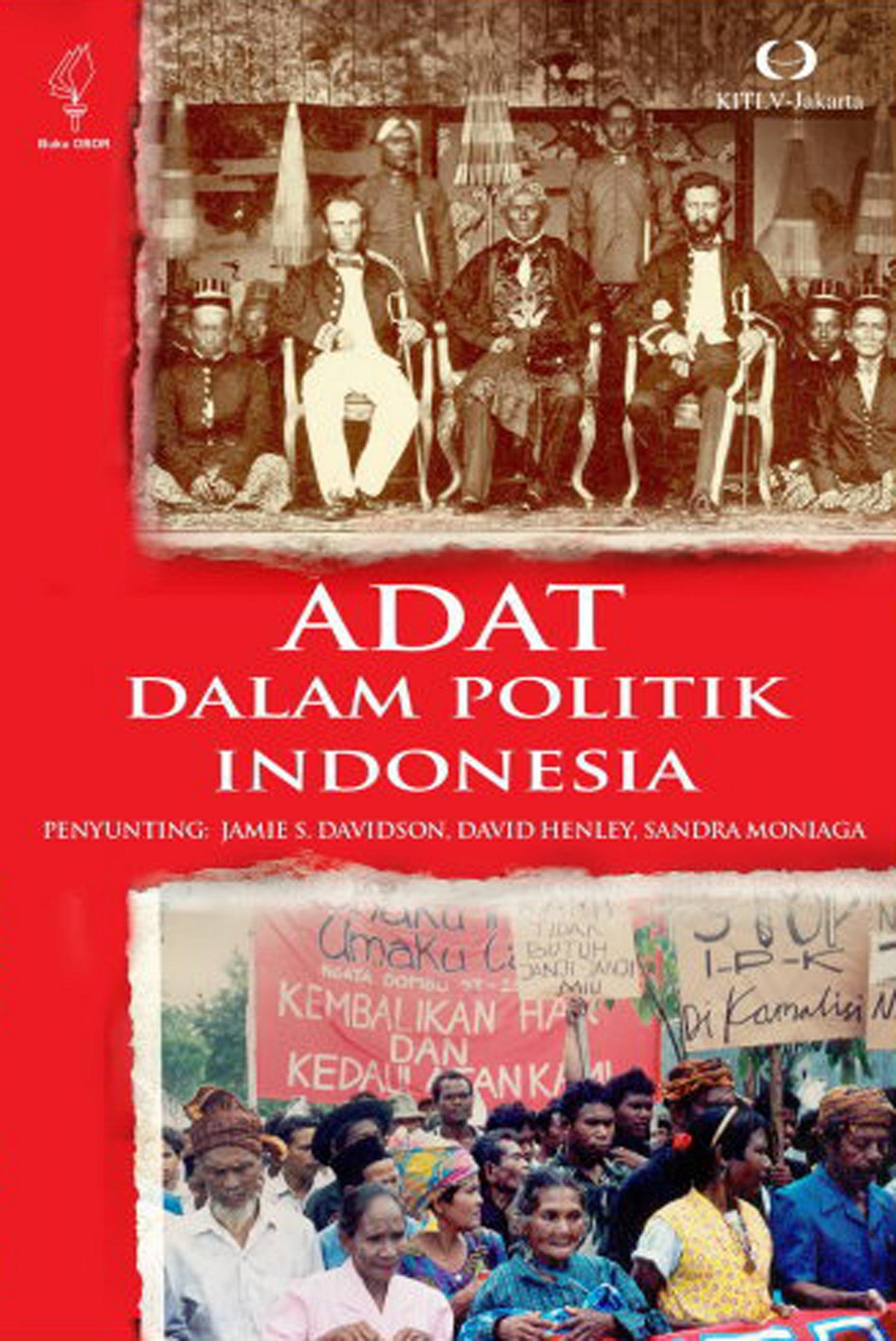 Adat dalam politik Indonesia [sumber elektronis]