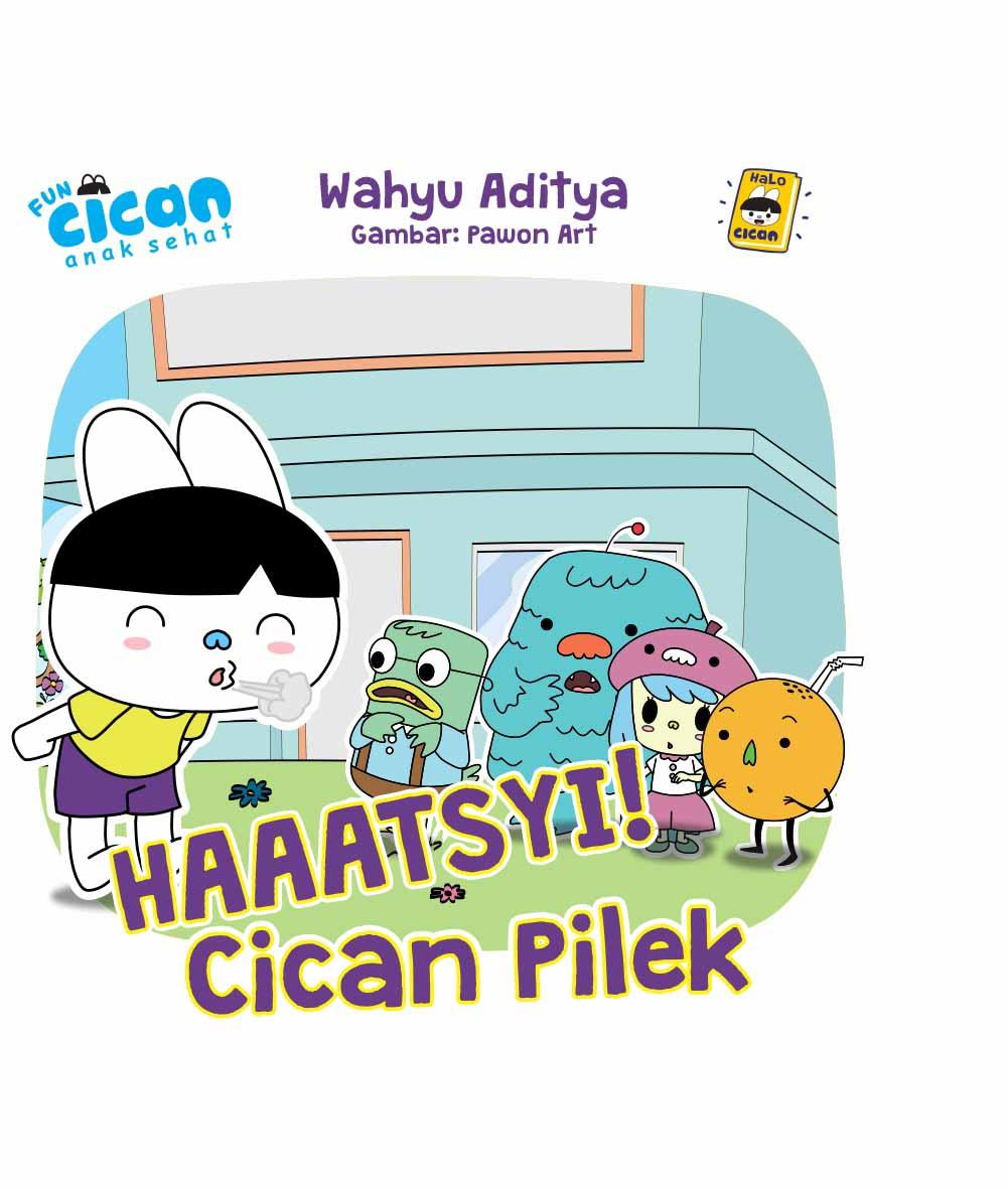 Haaatsyi, Cican kena flu [sumber elektronis]