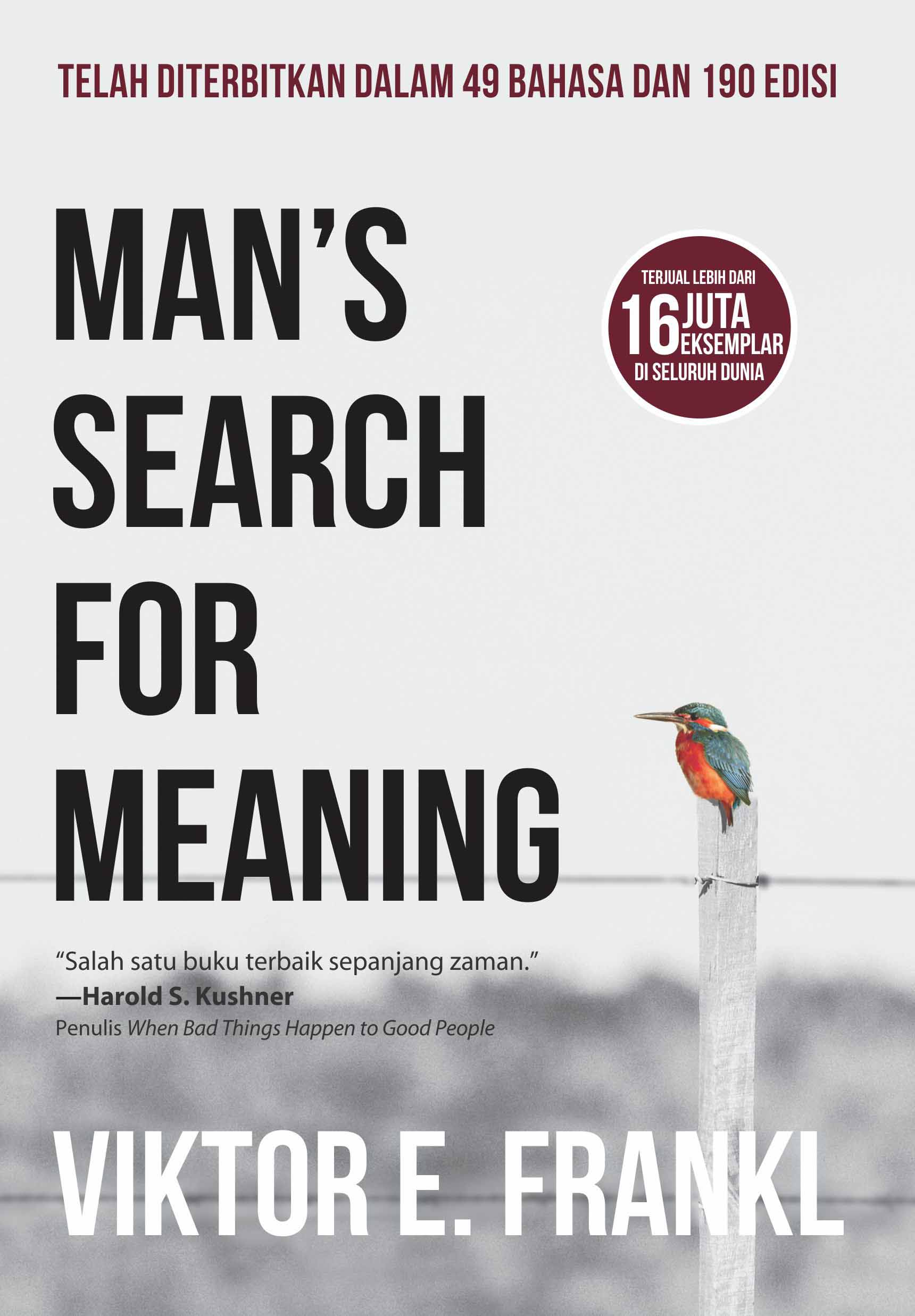 Man search for meaning [sumber elektronis]