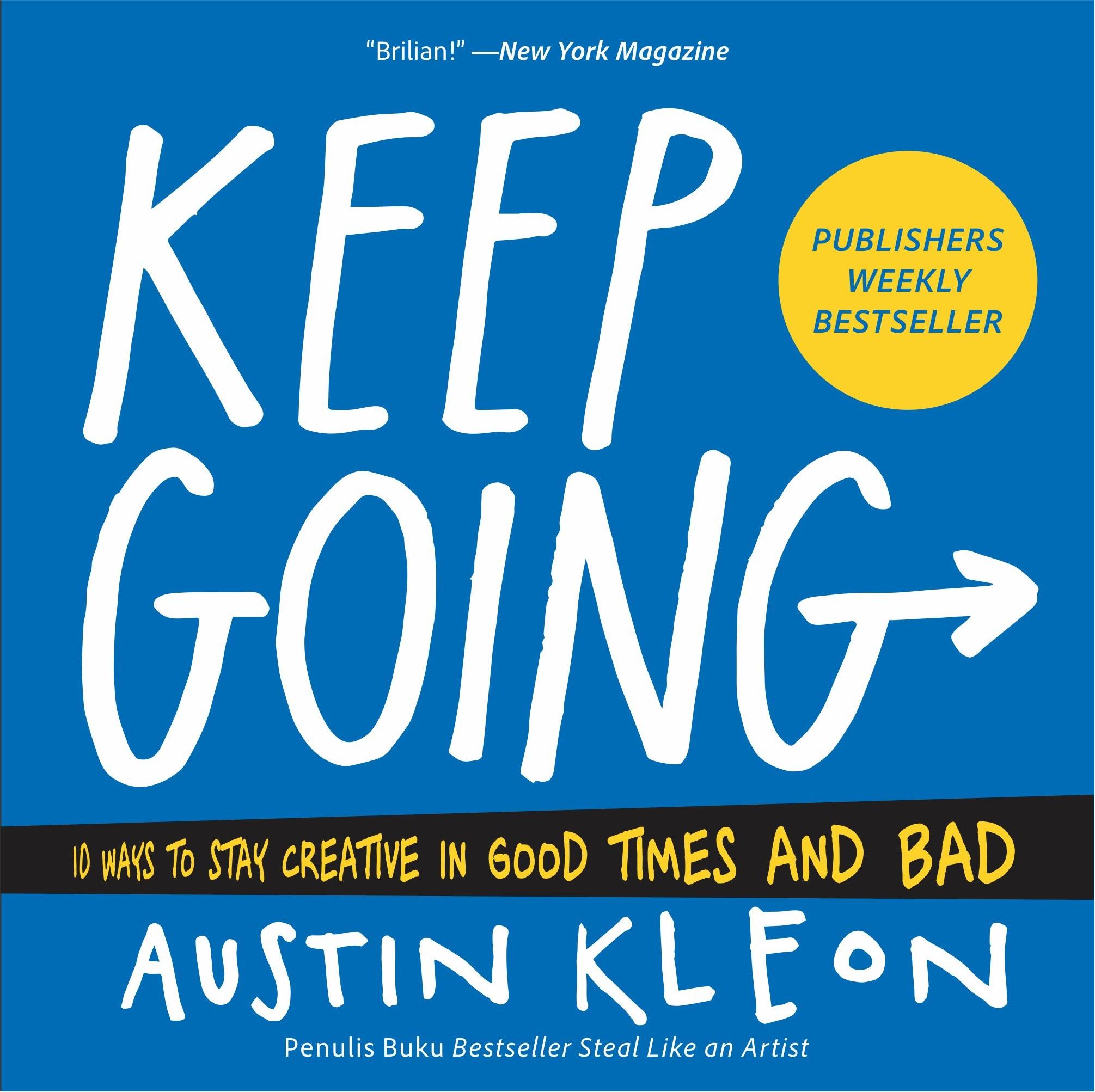 Keep going [sumber elektronis]