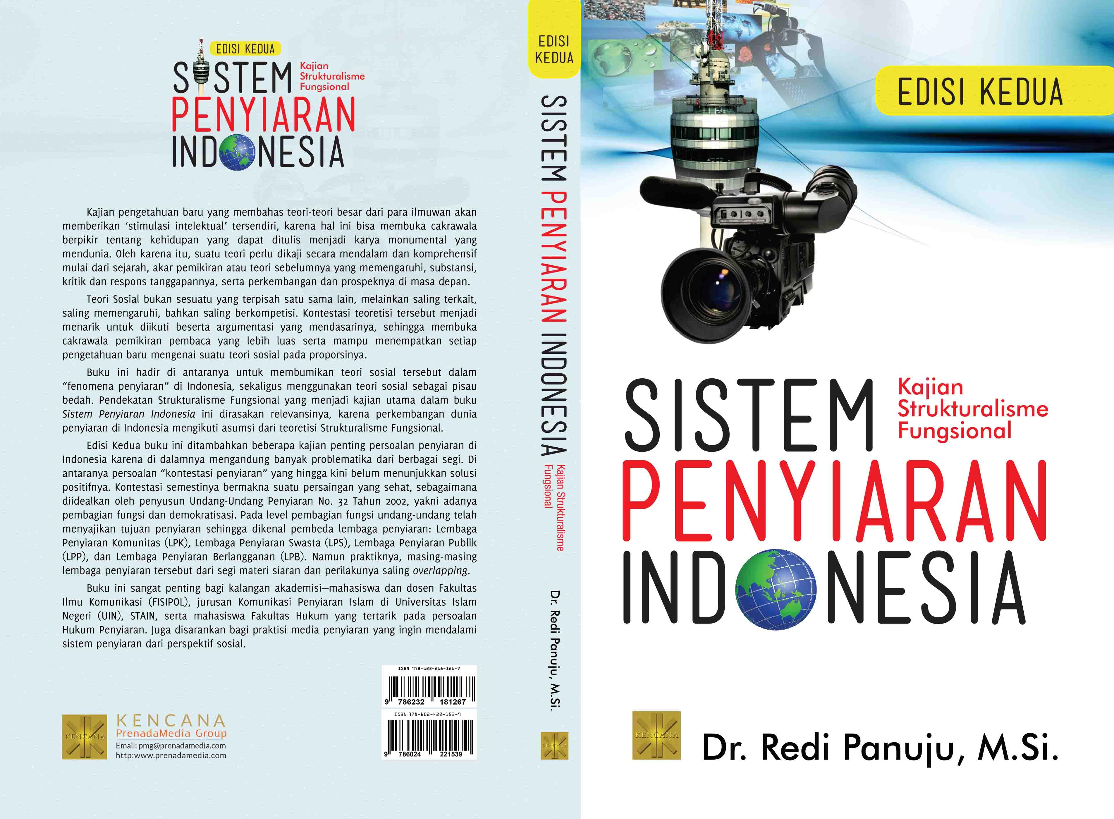 Sistem penyiaran Indonesia [sumber elektronis] : sebuah kajian strukturalisme fungsional