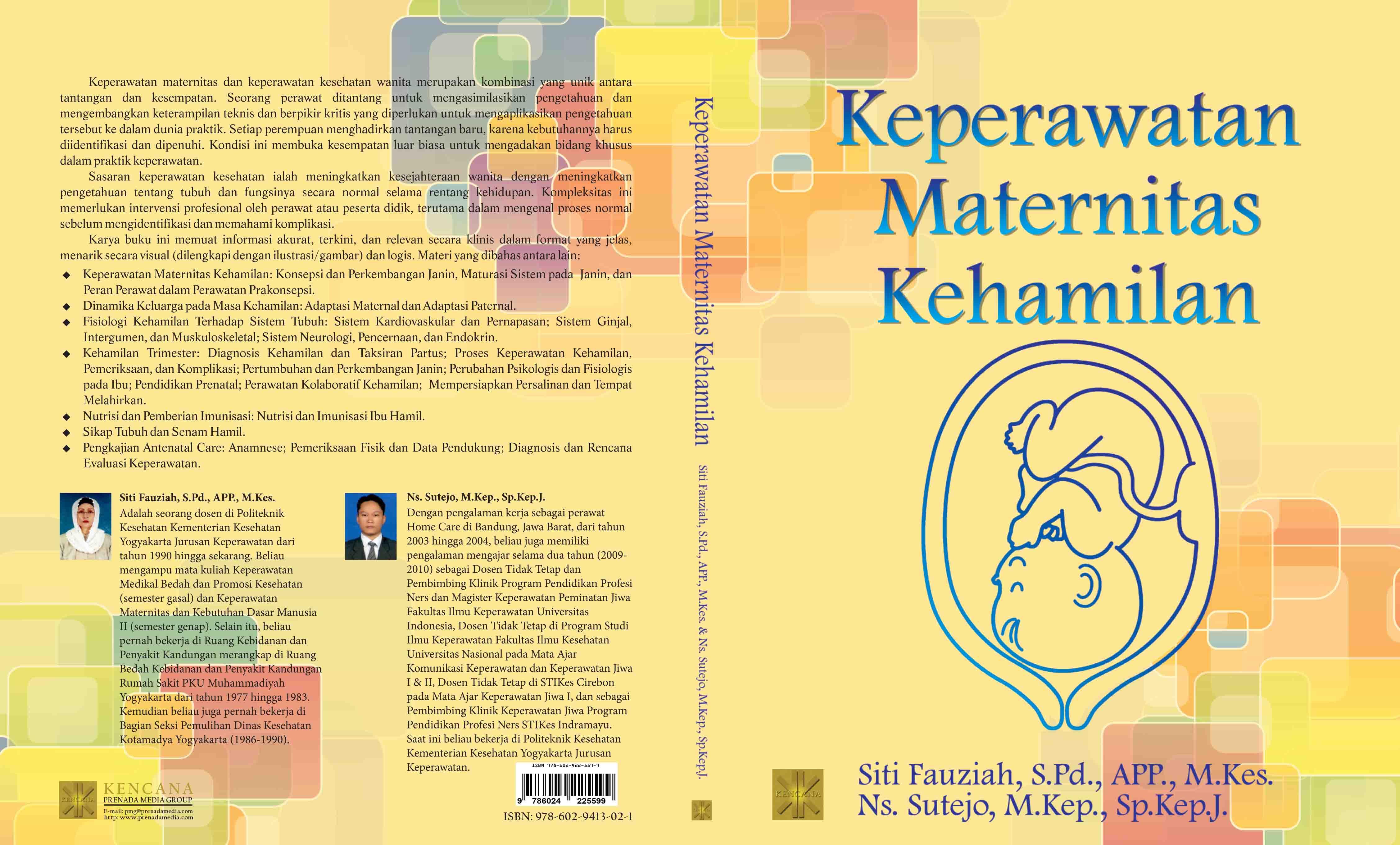 Buku ajar keperawatan maternitas kehamilan vol. 1 [sumber elektronis]
