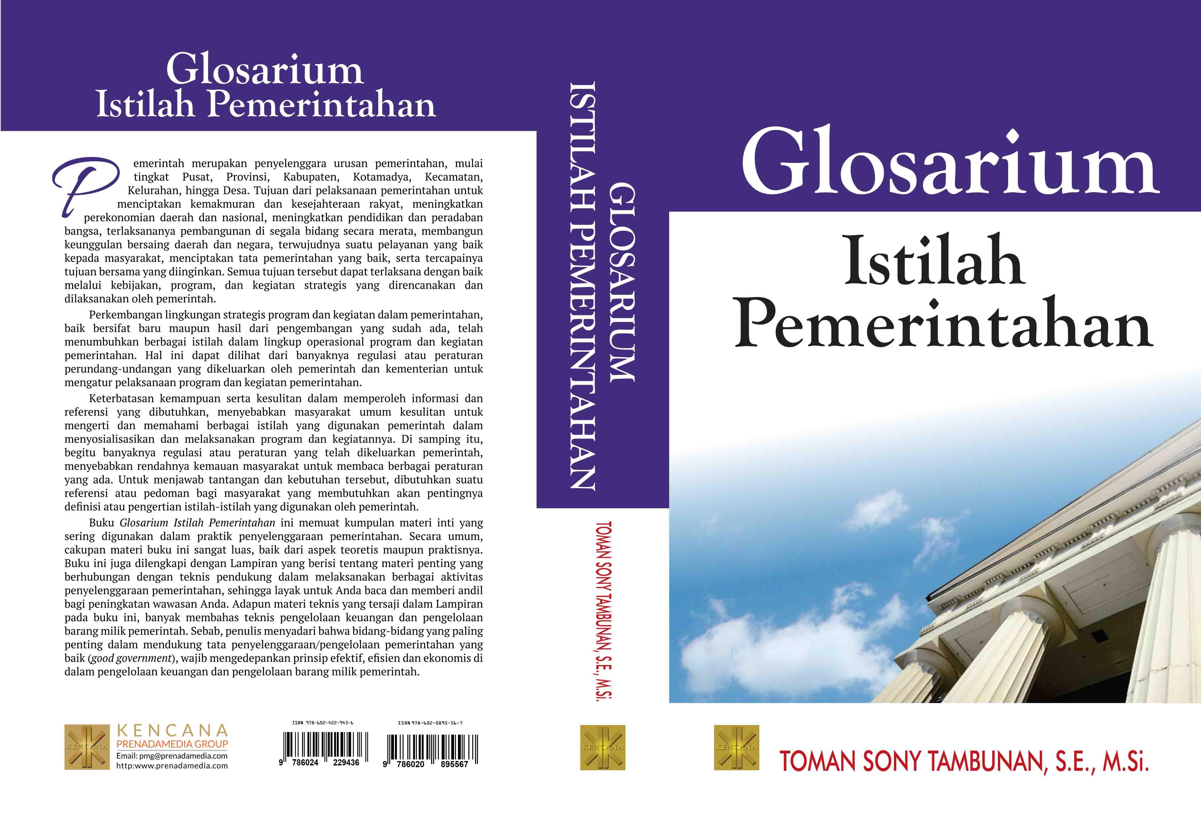 Glosarium istilah pemerintahan [sumber elektronis]