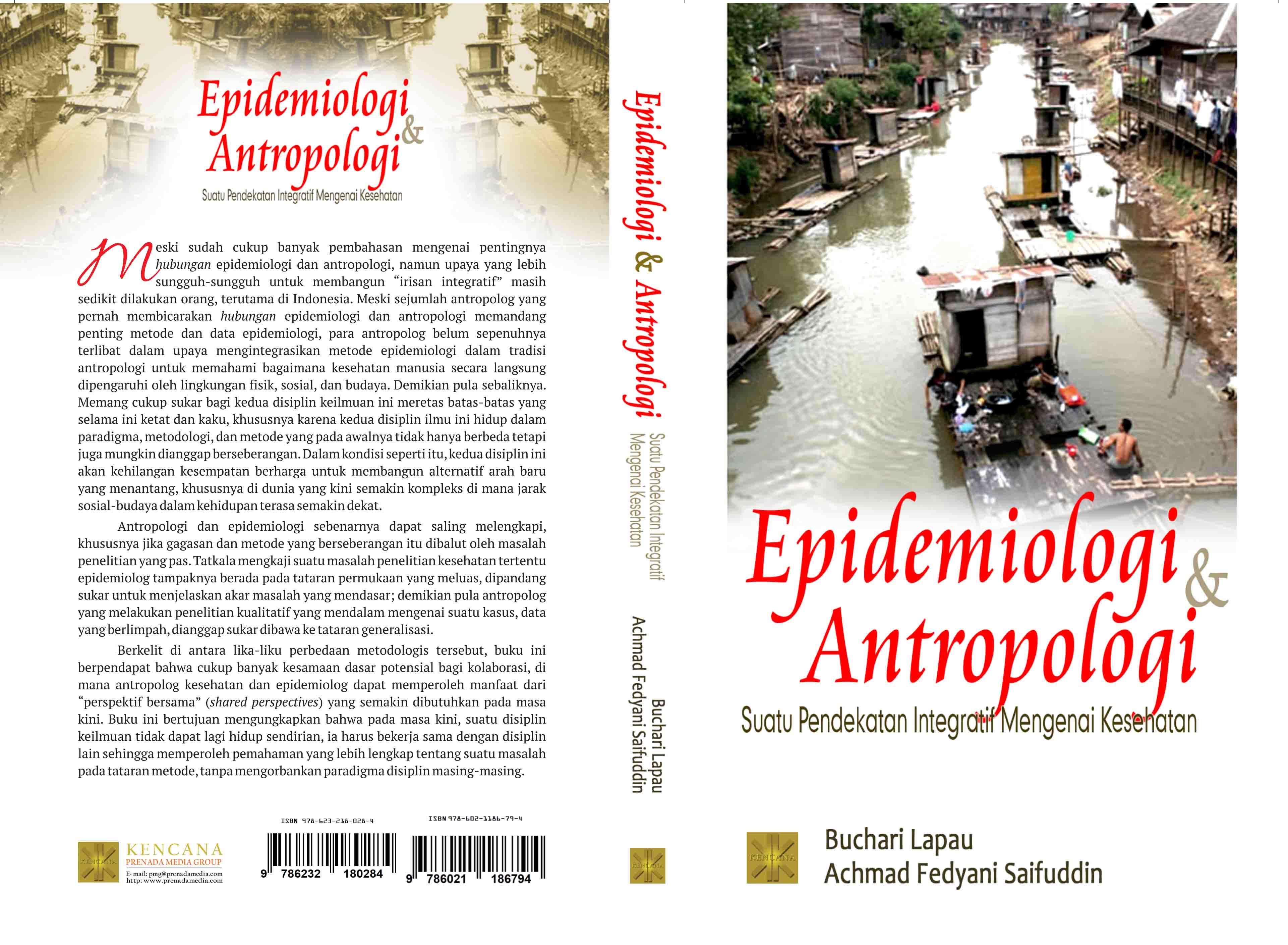 Epidemiologi dan antropologi [sumber elektronis] : suatu pendekatan integratif mengenai kesehatan