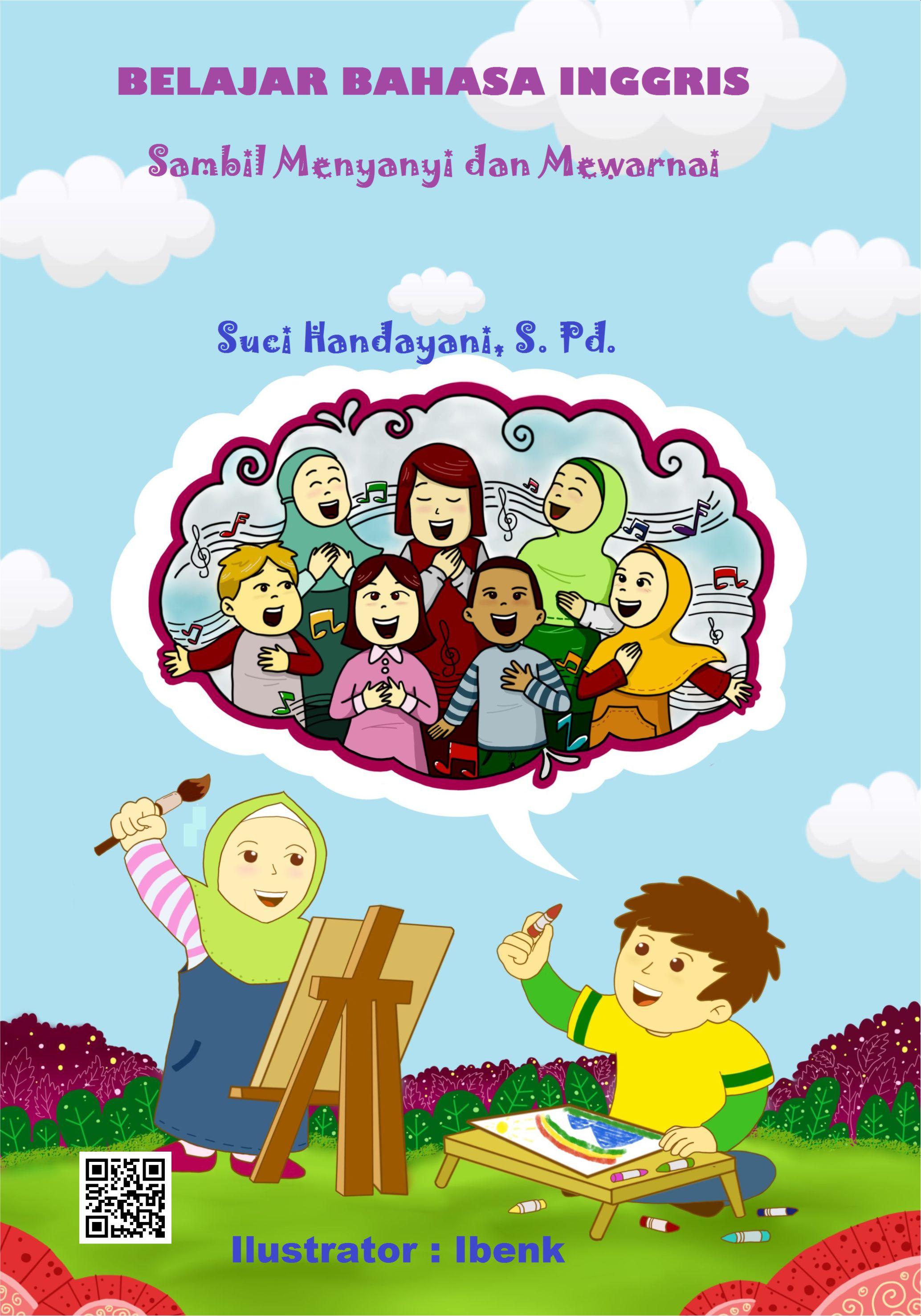 Belajar bahasa Inggris sambil menyanyi dan mewarnai [sumber elektronis]