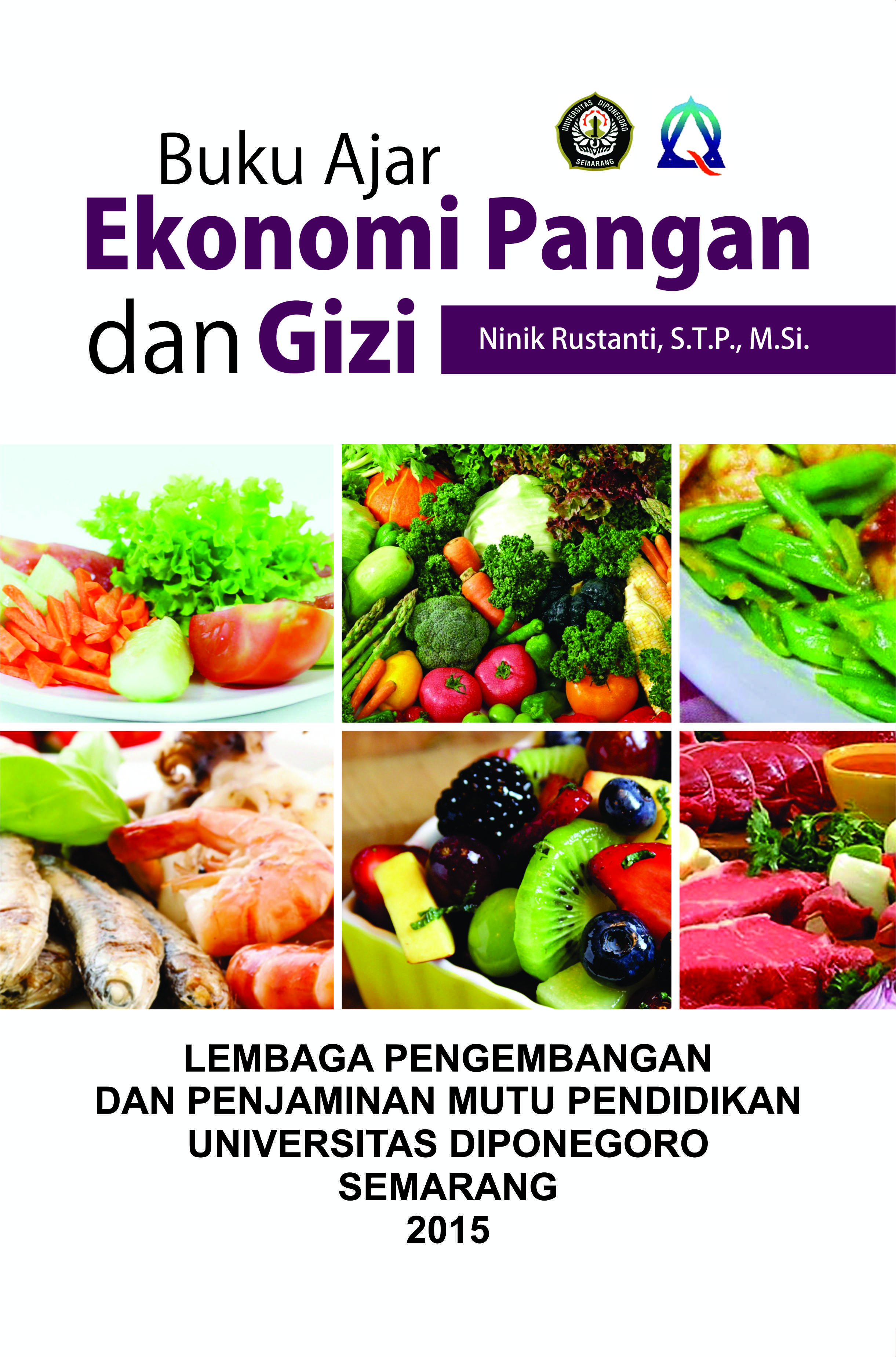 Buku ajar ekonomi pangan dan gizi [sumber elektronis]