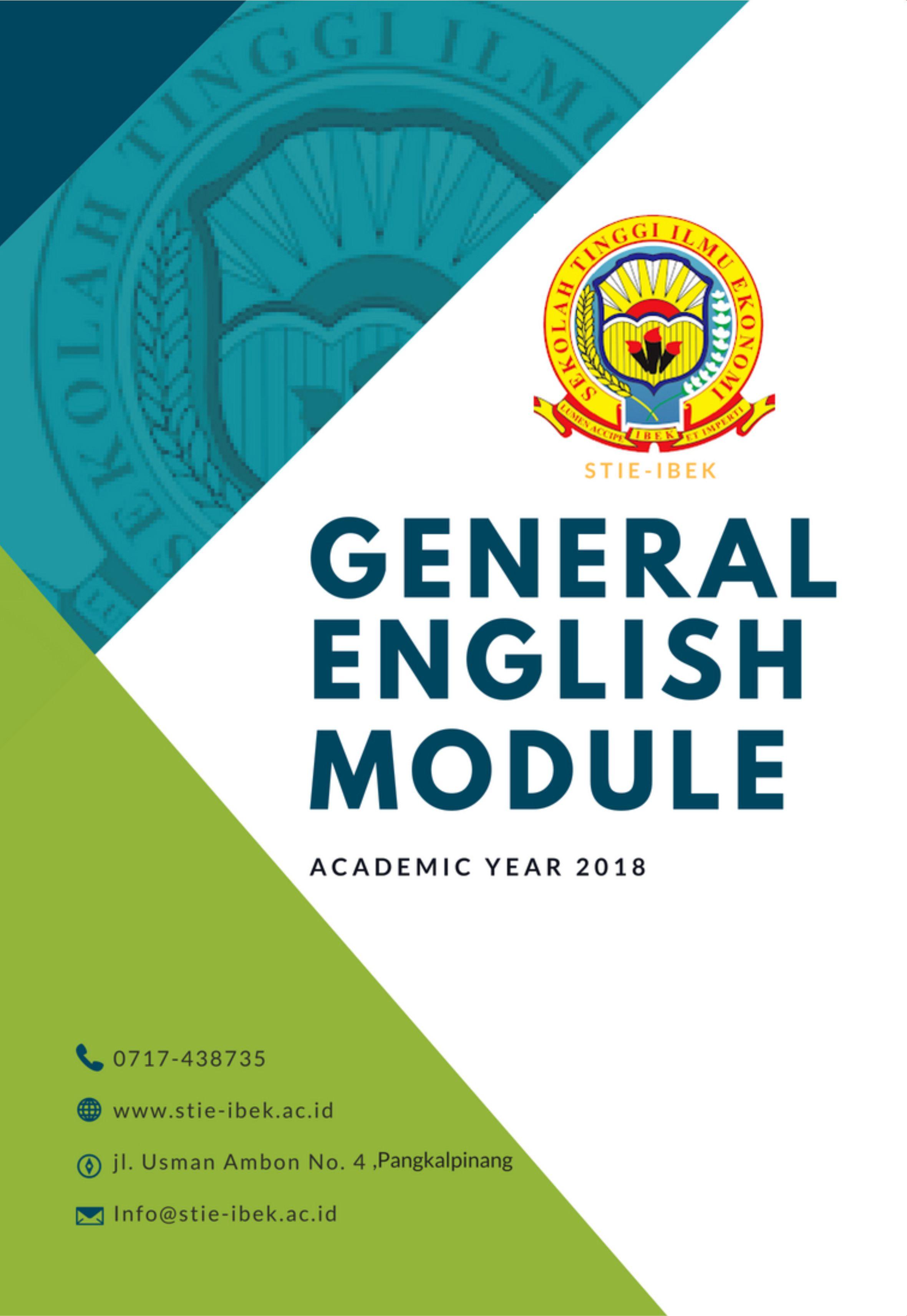 General English module [sumber elektronis]