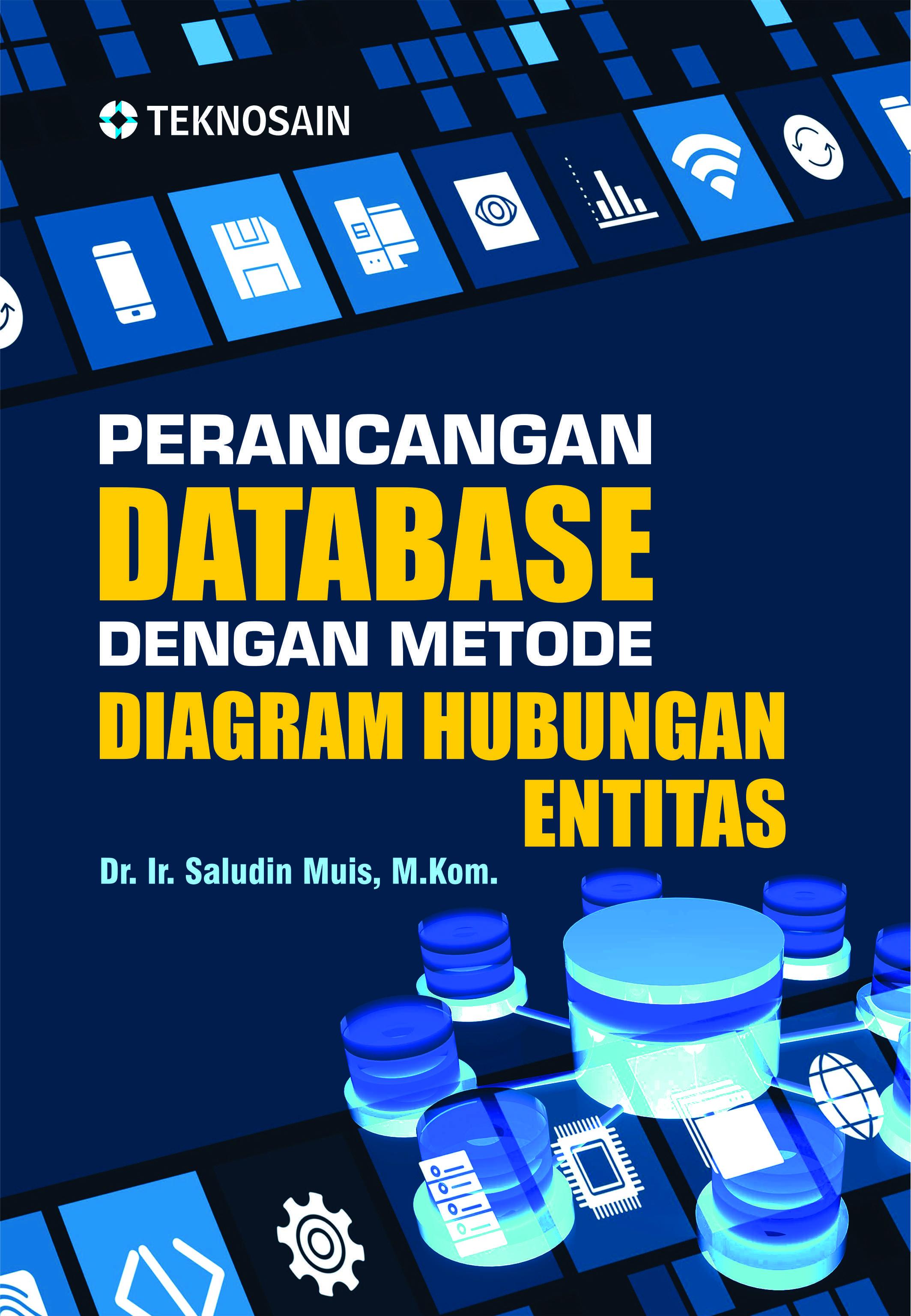 Perancangan database dengan metode diagram hubungan entitas
