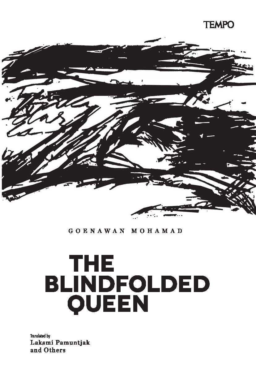 The blindfolded queen [sumber elektronis] : a collection of poems