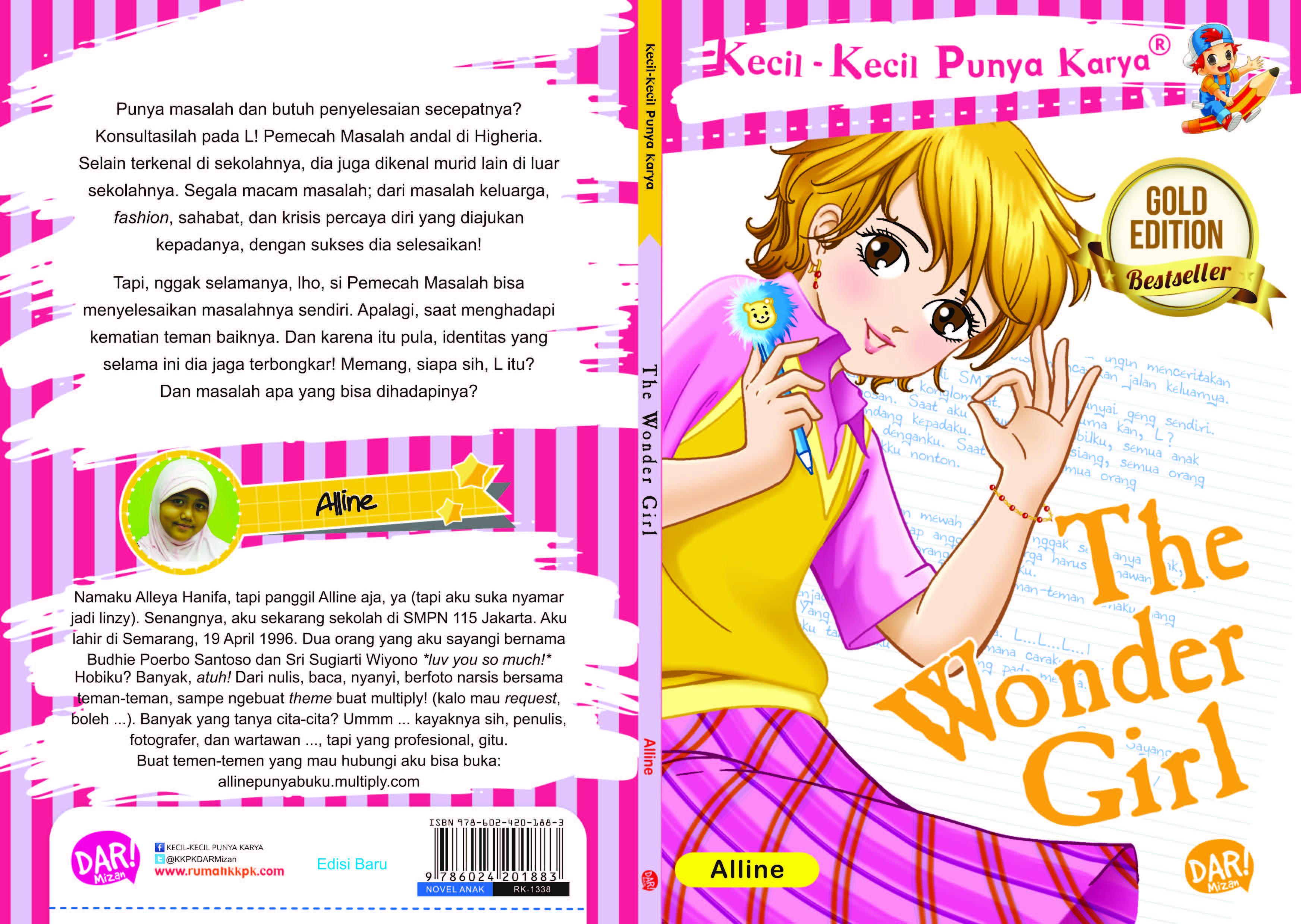 The wonder girl [sumber elektronis]