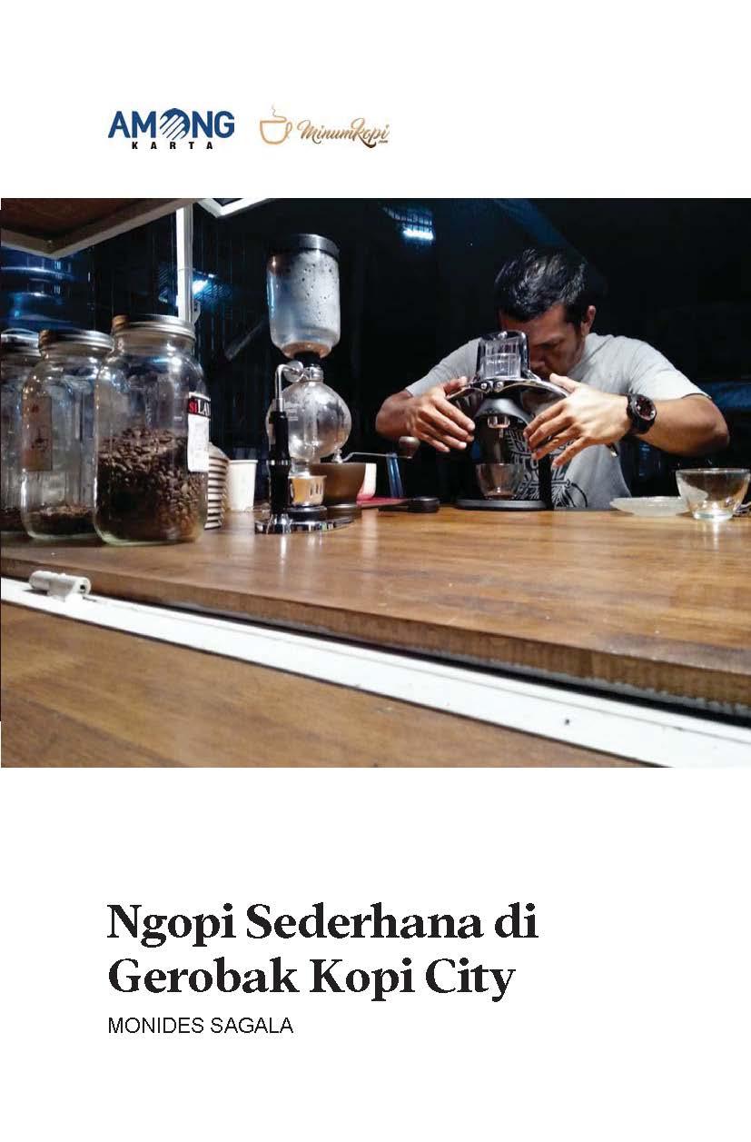 Ngopi sederhana di gerobak kopi city [sumber elektronis]