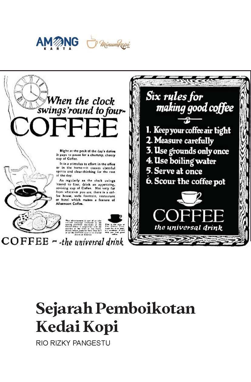 Sejarah pemboikotan kedai kopi [sumber elektronis]