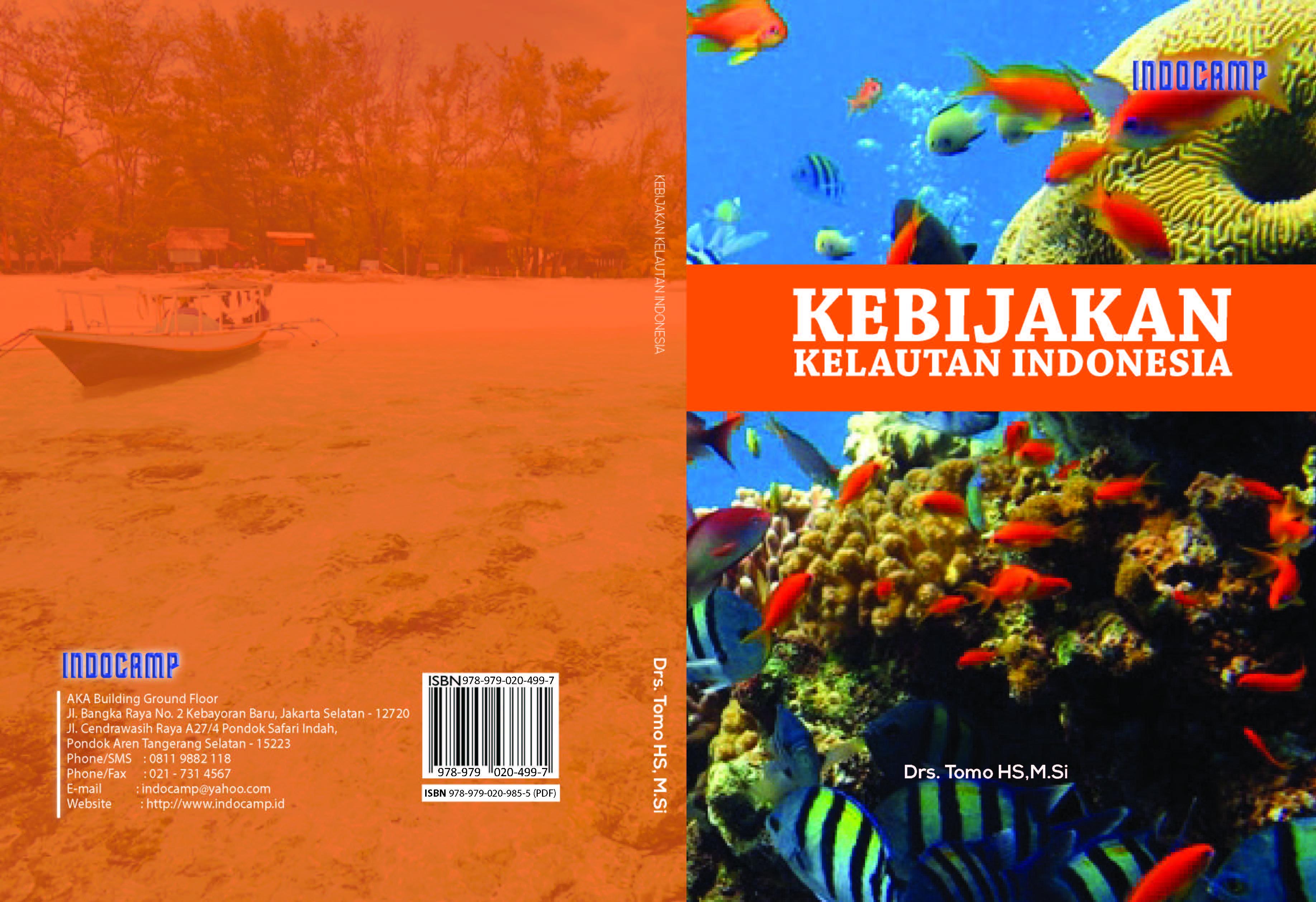 Kebijakan kelautan Indonesia (KKI) [sumber elektronis]