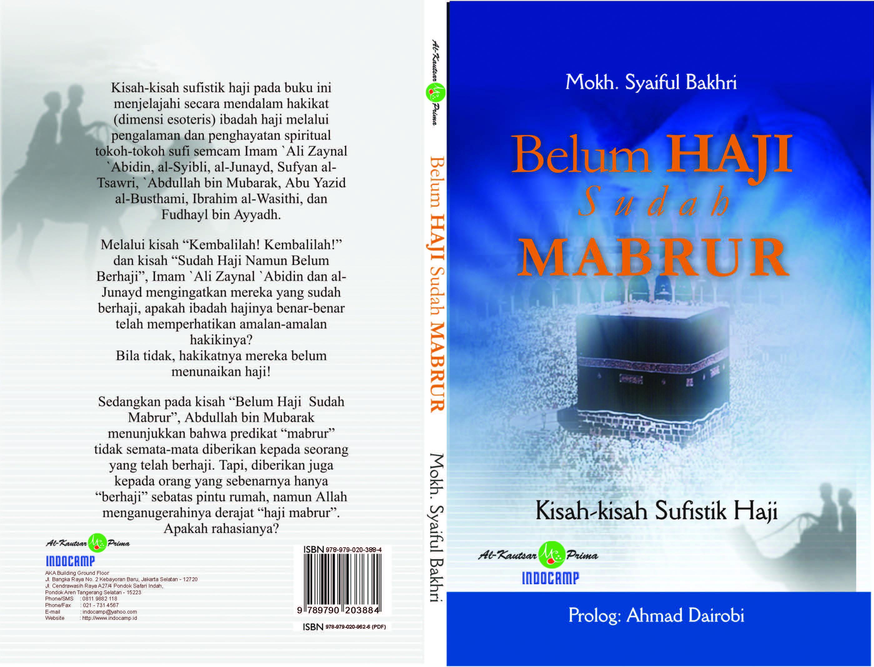 Belum haji sudah mabrur [sumber elektronis] :  kisah-kisah sufistik haji