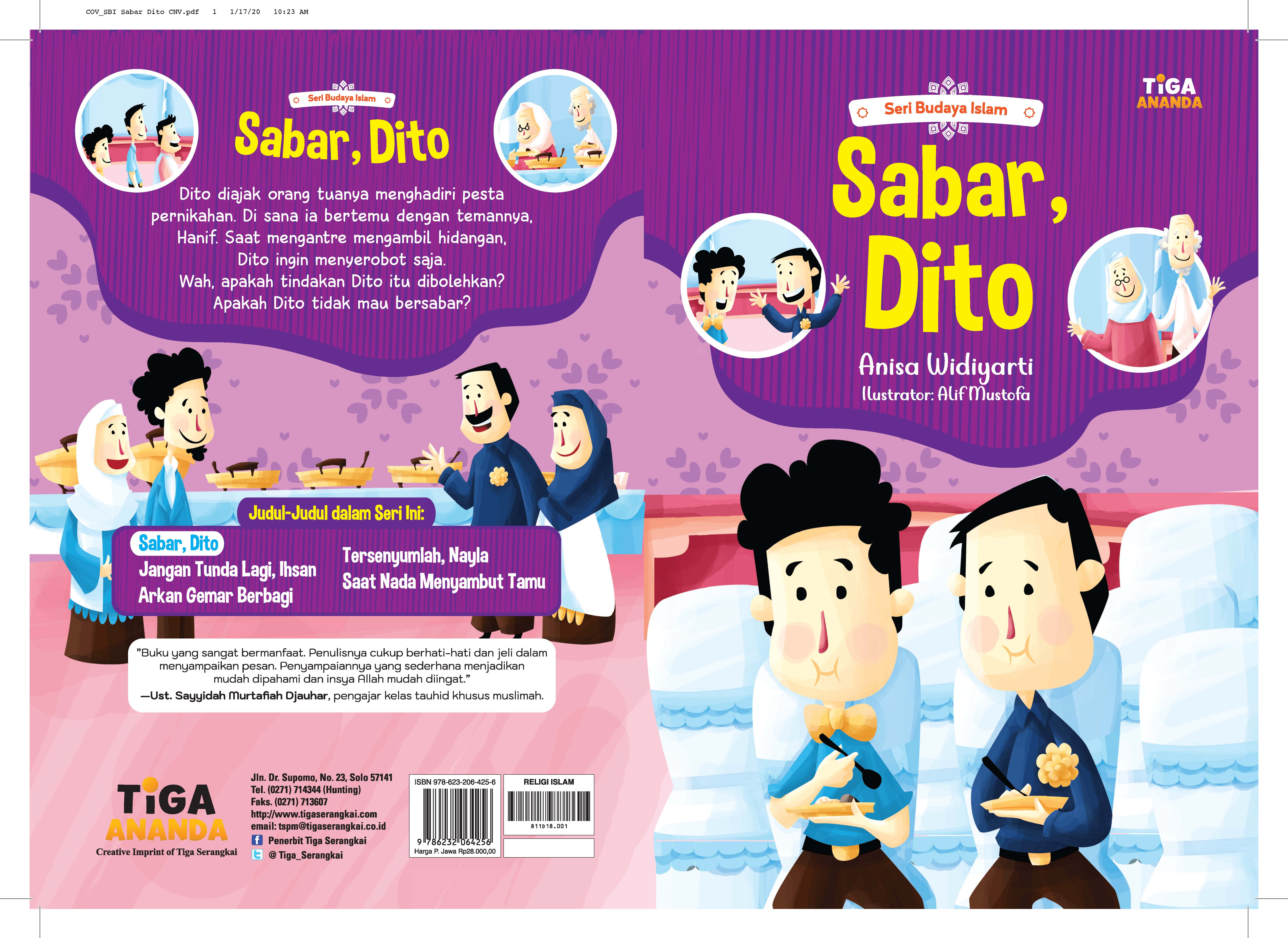 Sabar, Dito [sumber elektronis]