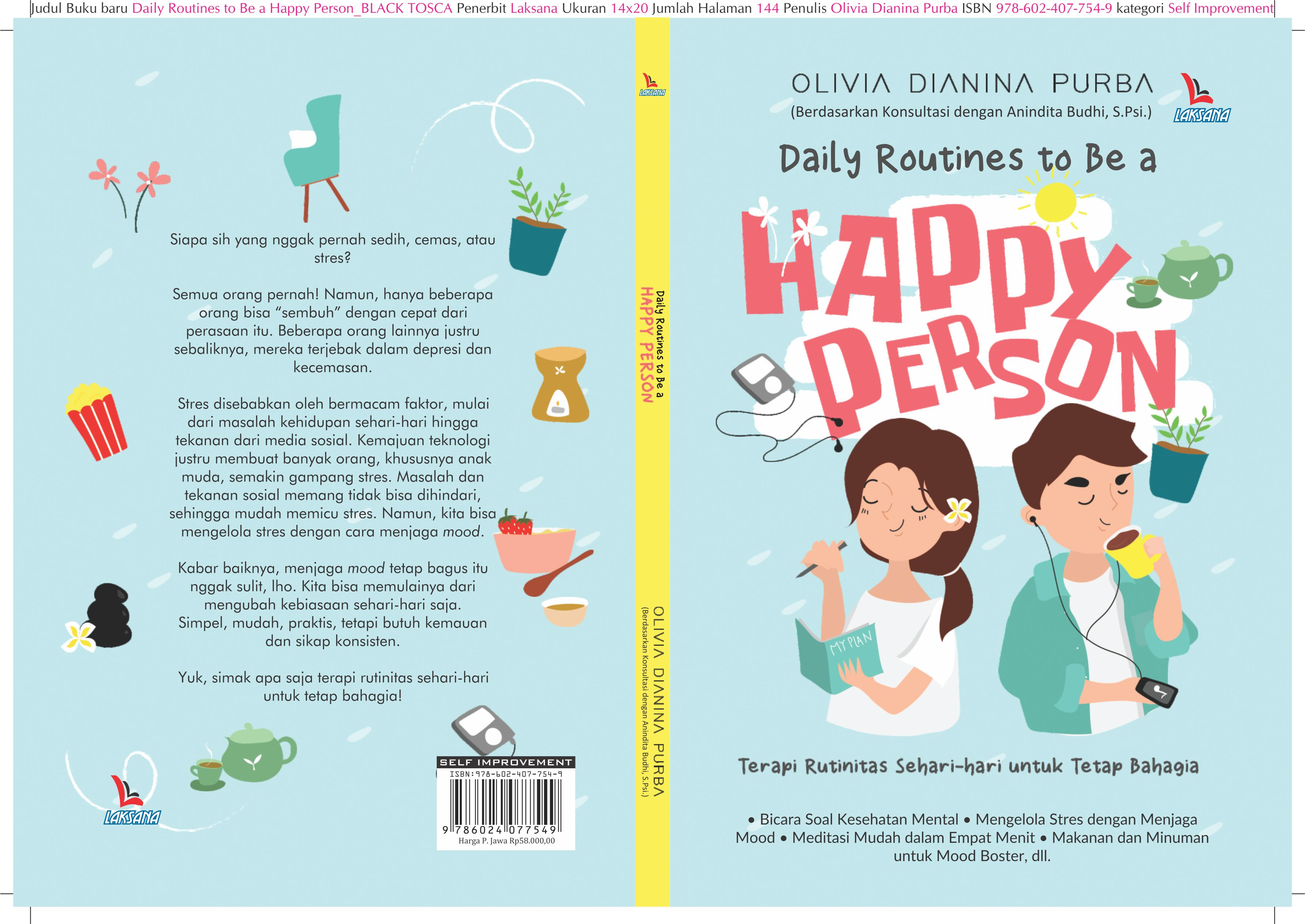 Daily routines to be a happy person [sumber elektronis]